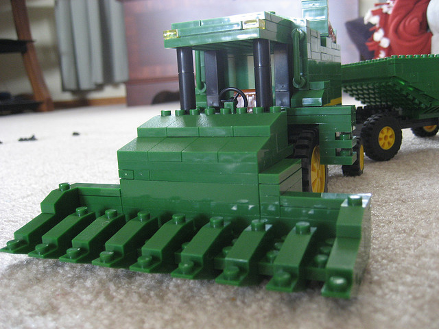 lego combine The Best John Deere Lego Structures
