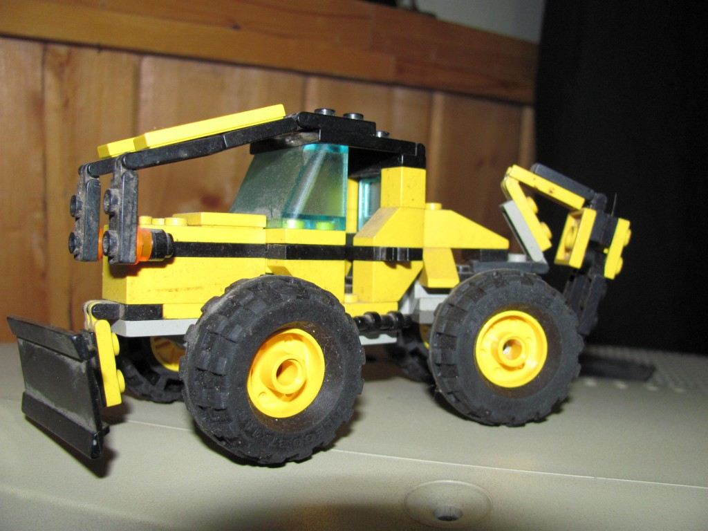 John Deere Skidder legos