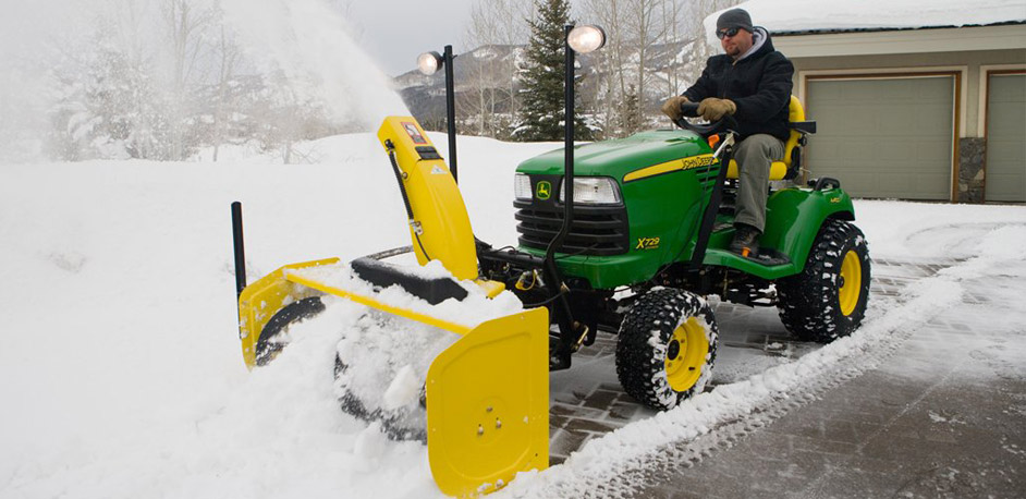 Two John Deere Snow Blowers To Help Simplify Your Winter
