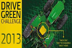 For the fifth consecutive year, the Drive Green Challenge gives customers a chance to test-drive equipment