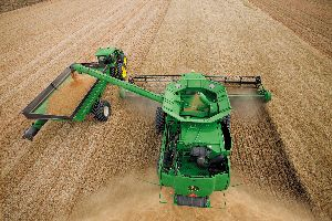 John Deere's Machine Sync is one of two Deere products to earn an AE50 award
