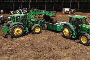 Overall tractor sales experienced double digit growth in 2012