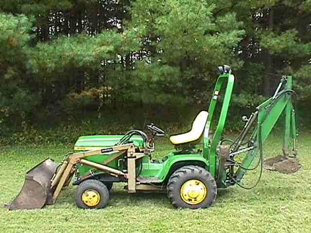 Small Tractor Implements For Gardening : Fire up your john deere lawn tractor to get ready for