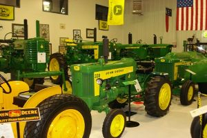 The John Deere Tractor and Engine Museum will offer a variety of exciting exhibits and Deere equipment
