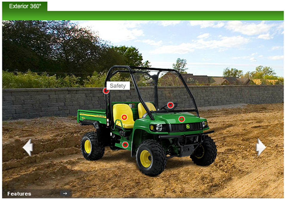 John Deere HPX safety
