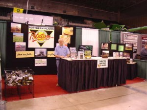 International Crop Expo Potato Vendor Booth in 2012