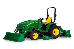 The John Deere 3320 receives positive reviews from test-drivers