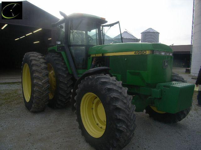 JD4960 OH 114K Online or Traditional Auction: John Deere Tractors Sell Strong