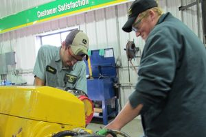 The John Deere TECH program offers students an opportunity to become experts inside and outside the classroom
