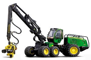 New John Deere wheeled harvesters improve logging efficiency