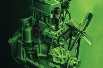 First John Deere Diesel Engine