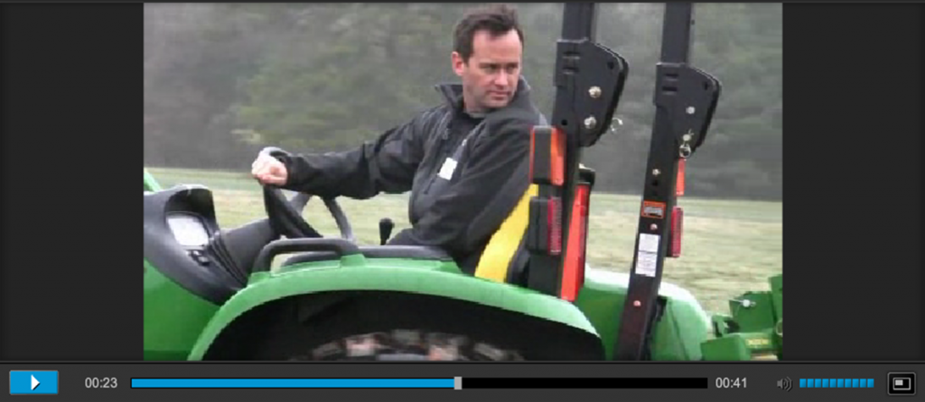 Chris's John Deere test drive