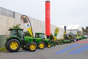 Agricultural equipment sales in the U.S. are on the rise