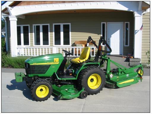 Deere mower