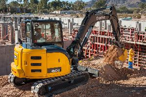 The John Deere 50G and 60G excavators aim to increase uptime, comfort, and productivity
