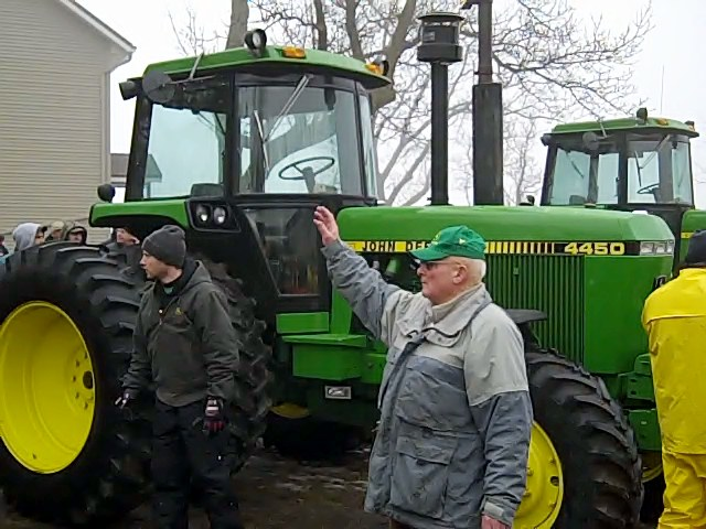 1988 JD 4450 tractor with 2,612 hours