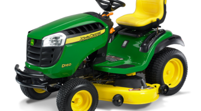 Spring 2013 lawn tractor JD D160 model