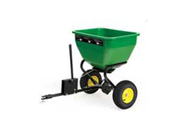 John Deere Spreaders Lawn Tractor : Early spring lawn care tips for lush green grass