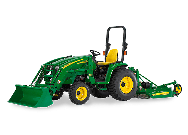 John Deere Utility Tractors Seats : John deere tractor review of a unique compact