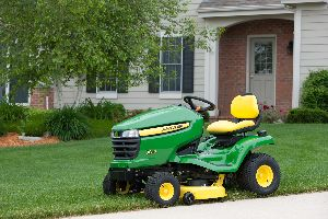 John Deere lawn tractors helped drive the charitable donation made by J D Equipment Inc.