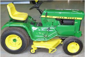 The 1963 John Deere model 110 will celebrate 50 years at the Dodge County Fairgrounds