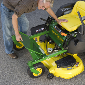 Spotlight On The John Deere Z245 Zero Turn Lawn Mower