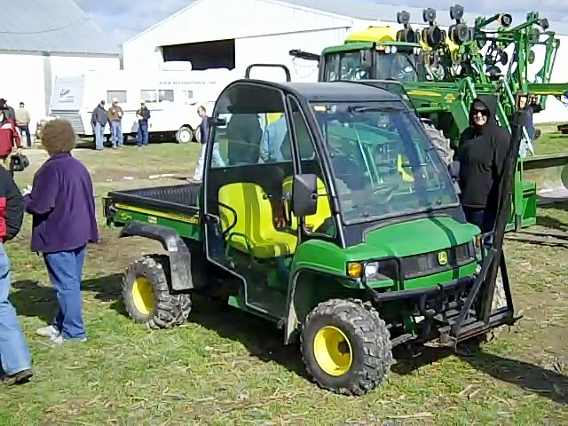 John Deere Gator sold for $11,700 at Ohio auction