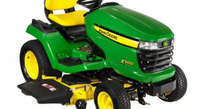 Lawn tractor X500 series from Deere