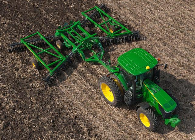John Deere Tillage | Corn Planting
