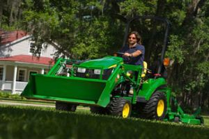 Attendees of the Drive Green Challenge will be entered to win a John Deere 1023E