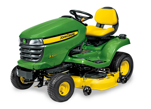 JD lawn tractor - X300
