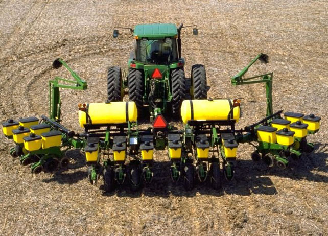 Time Is On Your Side With The John Deere 1760 Planter