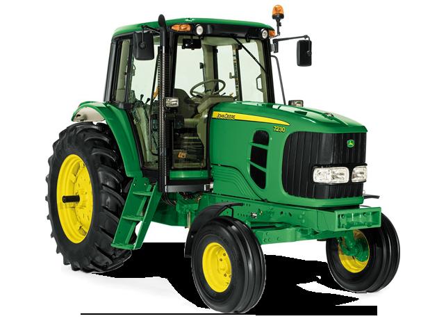 John Deere 7230 Row Crop Tractor