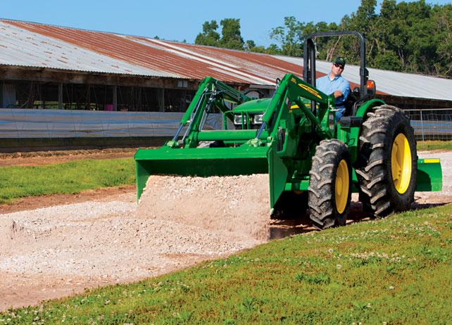 John Deere 5E series utility tractor