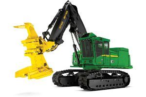 New features to the John Deere 900K/H Series tracked feller bunchers and harvesters could increase productivity