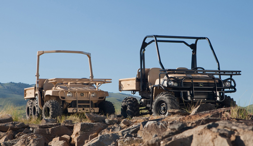 John Deere military utility vehicle Gator