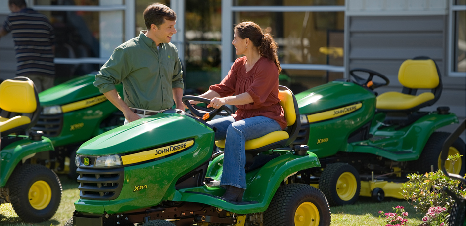 Drive Green Challenge 3E series tractor