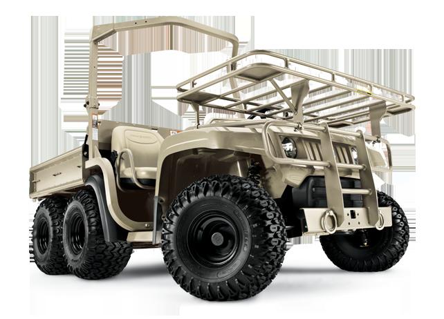 JD Gator military utility vehicle