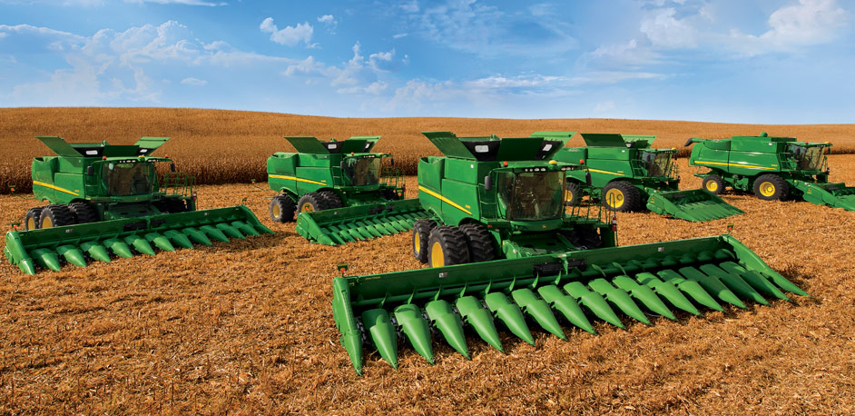 S-Series Combines from John Deere