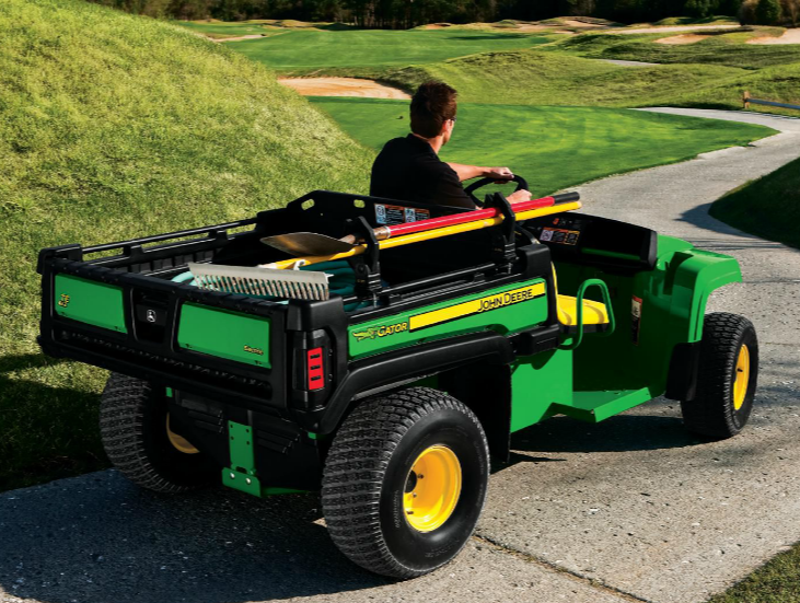 Keeping The Golf Course Pristine With 3 John Deere Gator
