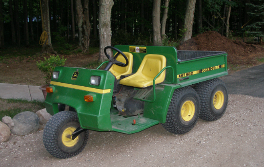Deere AMT utility vehicle