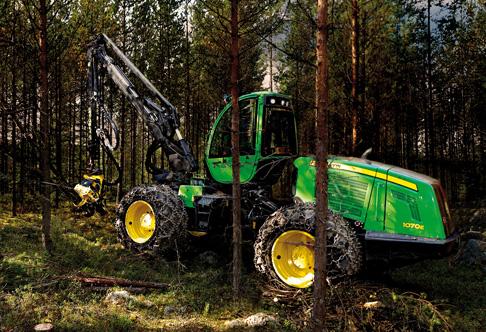 John Deere 1070E Forestry Harvester