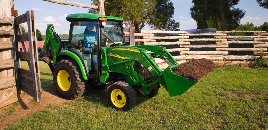 John Deere Cab Tractors