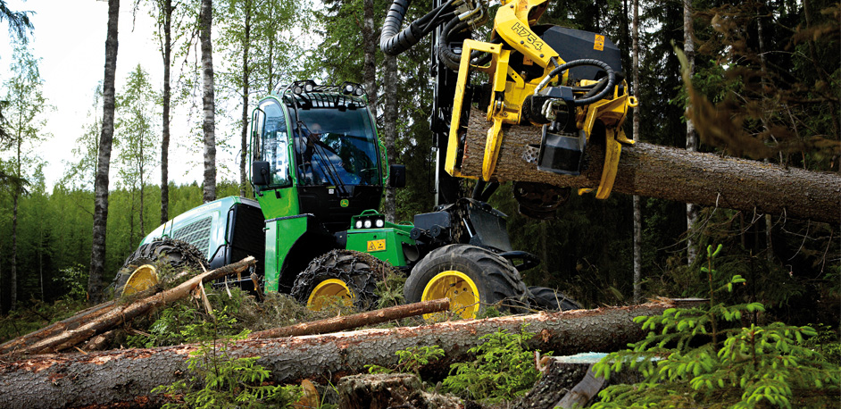 John Deere 1170E Forestry Harvester