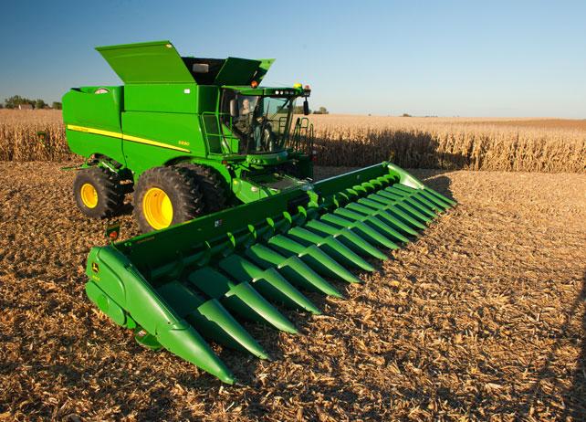 John Deere Grain Tank