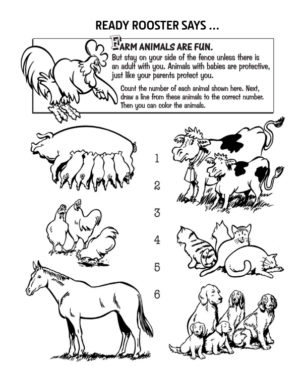farm coloring pages kids - photo#46