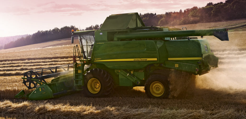 John Deere W Series Sunset