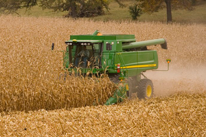 The United States corn harvest is off to a slow start thanks to late planting and low maturity levels across the Corn Belt