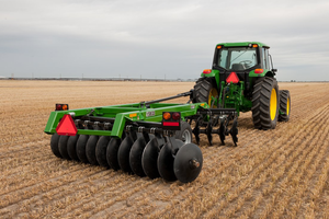 John Deere agricultural equipment will be on display at the 2013 Farm Science Review in London, Ohio