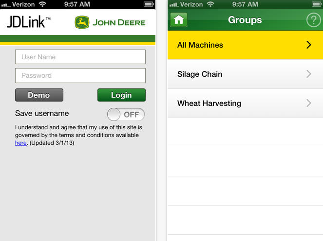 JDLink Three John Deere Mobile Apps to Access on the Go